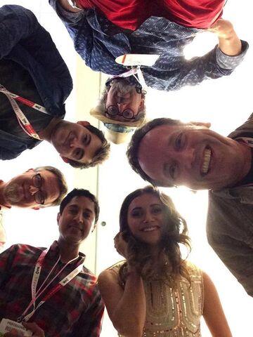 File:Jeff, Vincent, Dan, Maulik, Alyson, & DeeBB.jpg