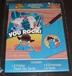 DesignWare 2012 'You Rock!' Thank You Cards