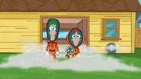 Phineas and Ferb in their space suits.jpg
