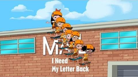 Phineas and Ferb - I Need My Letter Back