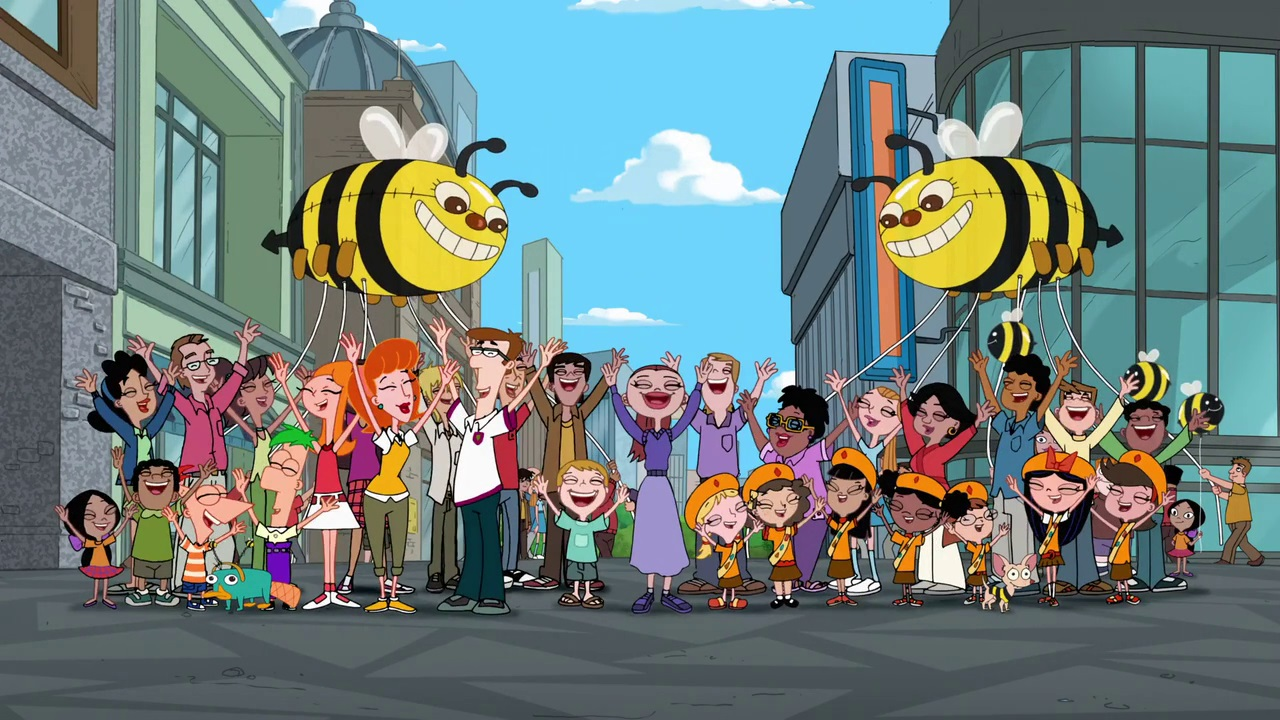 bee song phineas and ferb wiki fandom powered by wikia