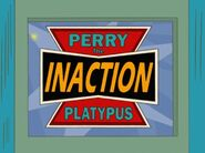 Perry the Inaction Figure logo
