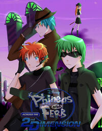 Phineas and Ferb Anime - ASTD, by Monksea