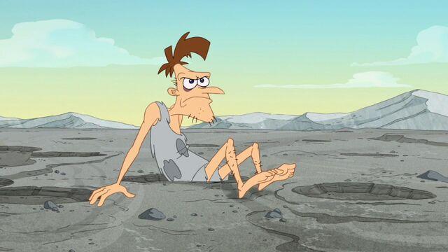 File:Caveman Doof cursing Perry.jpg