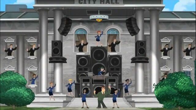 File:City Hall crew dancing.jpg