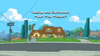 Ladies and Gentlemen, Meet Max Modem! title card