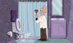 Lald019 toilet plunger hand