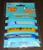 DesignWare 2012 Phineas and Ferb Bracelets