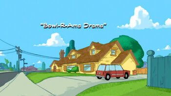 Bowl-R-Ama Drama title card
