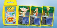 Phineas and Ferb Top Trumps Card Game