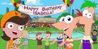 Happy Birthday, Isabella