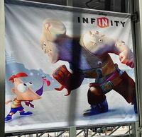 Disney Infinity Phineas poster