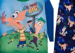 He Thinks Big - Phineas and Ferb - boys pajamas
