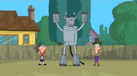 Phineas and Ferb - Robot Rodeo (Song)