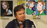 Dan Povenmire, as drawn in the show