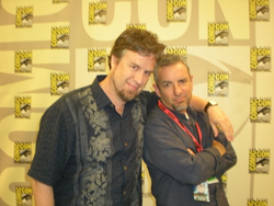 Dan and Swampy at Comic-Con