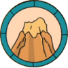 Mountain Climbing Patch