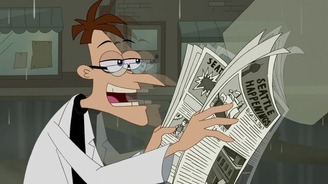 File:327 - Doof Enjoying the Paper.jpg