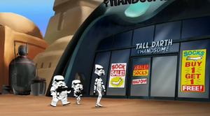 Darth Vader's socks