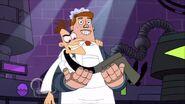 Norm holds Doofenshmirtz