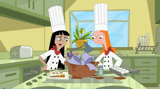 File:Candace and stacy with the ingrediants for lamb cobbler.jpg