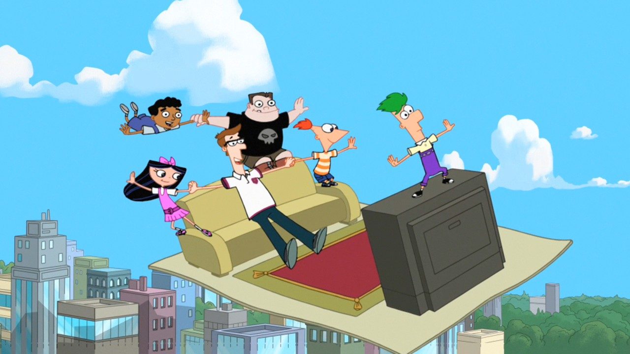 Magic Carpet Ride Phineas And Ferb Wiki Fandom Powered
