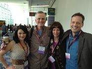 Dee Baker w Romi Dames, Rob Paulsen & Cynthia McLean