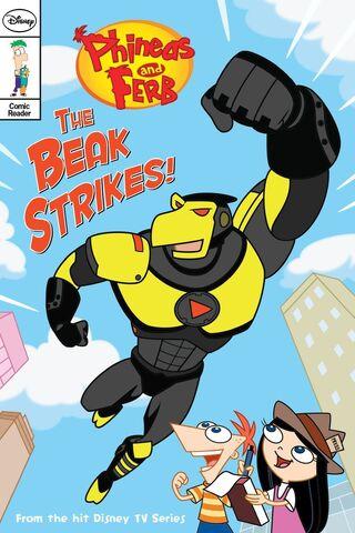 File:The Beak Strikes! Front cover.jpg