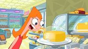 Candace Yelling at Cheese