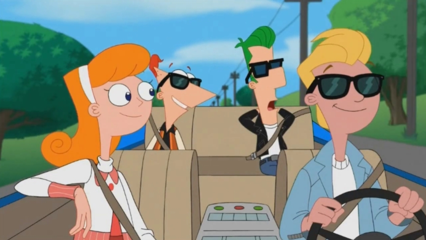 My Sweet Ride Phineas And Ferb Wiki Fandom Powered By