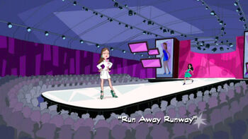 Run Away Runway title card