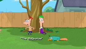 The Baljeatles title card