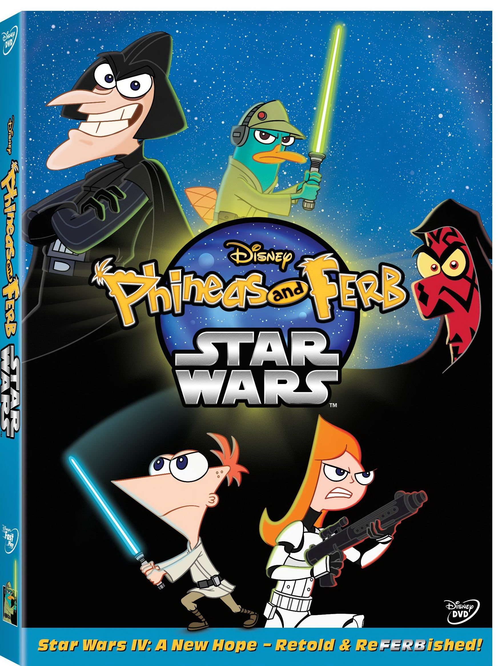 Fandom Powered By Wikia: Phineas And Ferb: Star Wars (DVD)
