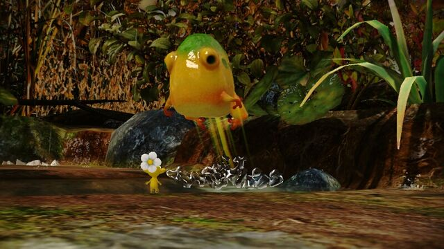 File:YellowWollywogJumping-Pikmin3.jpg