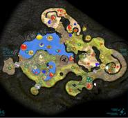Shaded Garden Map