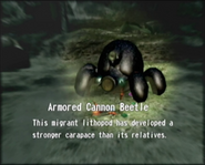 Reel1 Armored Cannon Beetle