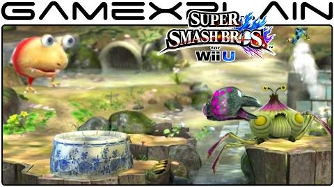 Smash Bros Wii U Garden of Hope Stage