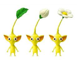 File:Three Yellow Pikmin.jpg