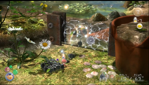File:Pikmin3 CrystalizedWall.png