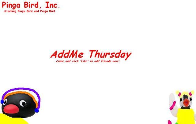 File:The AddMe Thursday.JPG