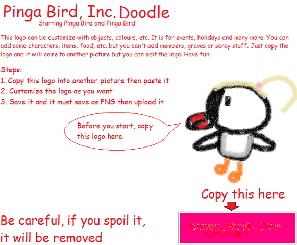 File:Pinga Bird, Inc. Doodles Poster.png