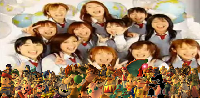 File:Morning Musume and Nintendo.PNG