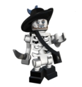 LEGO Barbossa skeleton