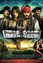 Pirates of the Caribbean On Stranger Tides UK DVD & Blu-ray Release Poster