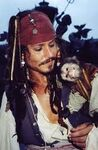 Jack Sparrow & the Jack monkey