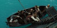 Black Pearl longboat