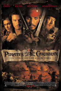 Pirates of the Caribbean- The Curse of the Black Pearl Theatrical Poster