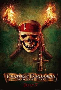Pirates of the Caribbean- Dead Man's Chest Teaser Poster
