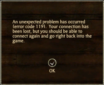 ErrorCode119