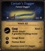 Corsairs-dagger